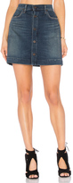 Citizens of Humanity Button Front Mini Skirt