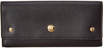 Burberry Triple Stud Grainy Leather Continental Wallet