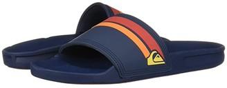 Quiksilver Rivi Slide (Blue/Red/Blue) Men's Slide Shoes