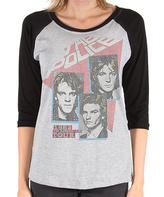 Goodie Two Sleeves Gray the Police American Tour Tee - Women