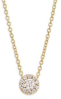 Hearts On Fire Women's Fulfillment 18K Yellow Gold & Diamond Pendant Necklace
