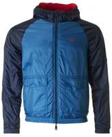 Armani Jeans Colour Block Reversible Hooded Jacket