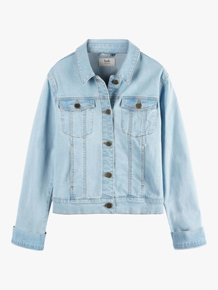 Hush Denim Jacket, Pale Blue