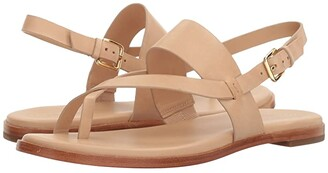 Cole Haan Anica Thong Sandal (Sahara) Women's Dress Sandals