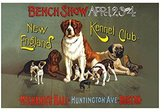 "Buyenlarge ""Bench Show. New England Kennel Club"" Print (Unframed Paper Print 20x30)"