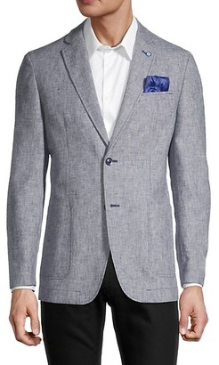 Ben Sherman Textured Wool-Blend Sportcoat