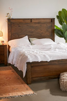 Urban Outfitters Florentina Washed Cotton Ruffle Duvet Cover