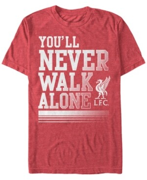 Liverpool Football Club Men's You'll Never Walk Alone Short Sleeve T-Shirt