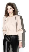 3.1 Phillip Lim Long-sleeve ruffle top