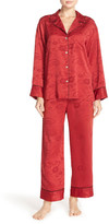 Natori Cloisonne Jacquard Pajama Set
