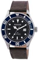 Kahuna Black Strap Watch Kus-0103g