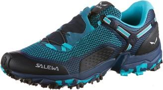 Salewa WS Ultra Train 2 Trail Running Shoes Women's Blue (Capri/Poseidon) 7.5 UK