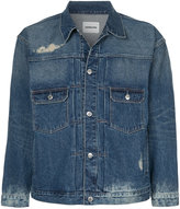 Monkey Time Distressed Denim Jacket