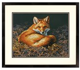 Dimensions Counted Cross Stitch Kit, Sunlit Fox