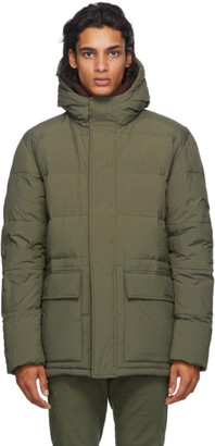 Norse Projects Green Down Willum Jacket