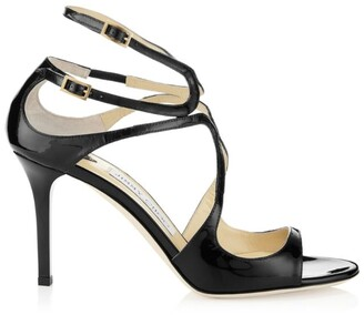 Jimmy Choo Ivette 85 Patent Sandals