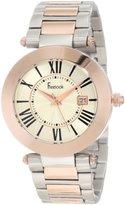 Freelook Women's HA1537RGM-2 Silver-Rose Gold Dial Watch