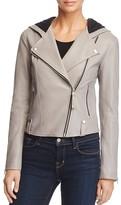 Mackage Keegan Hooded Leather Jacket