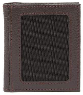 Will Leather Goods Pebble Leather Bifold Card Wallet