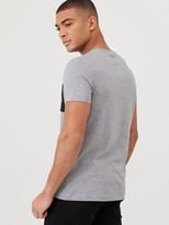 Calvin Klein Jeans Monogram Pocket Slim T-Shirt - Mid Grey Heather
