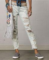 Denim & Supply Ralph Lauren Ralph Lauren Distressed Skinny Boyfriend Jeans, Brodsky Wash