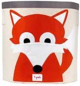 3 Sprouts Fox Canvas Storage Bin