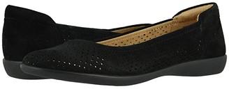 Naturalizer Flexy 2 (Black Suede) Women's Shoes