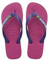 Havaianas Brasil Logo, Unisex Kids Flip Flops,(25/26 Brazilian) (27/28 EU)