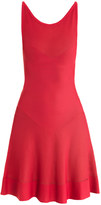 Azzedine Alaia Aurore fluted-skirt dress