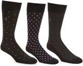 Polo Ralph Lauren Square Dot Performance Dress Socks