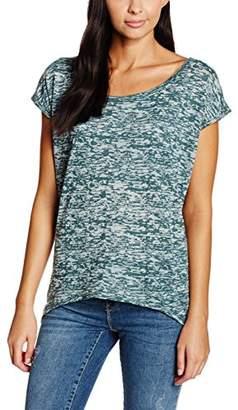 Urban Classics Women's Sleeveless T-Shirt - Blue (petrol 730)