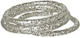 Kendra Scott Lucca Bangle Bracelets in Silver