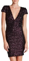 Dress the Population Women's Zoe Sequin Minidress