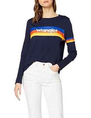 Wrangler Women's 80 ́s Retro Sweat Sweatshirt,X-Large