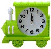 Retro Creative Train Noiseless Alarm Clock Kids' Birthday Gift Green