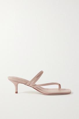 BEIGE Porte & Paire - Leather Sandals