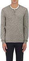 John Varvatos Men's Knit Henley Sweater