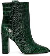 Paris Texas Women's Croc-Embossed Leather Ankle Boots