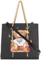 Moschino medium Teddy shopping bag