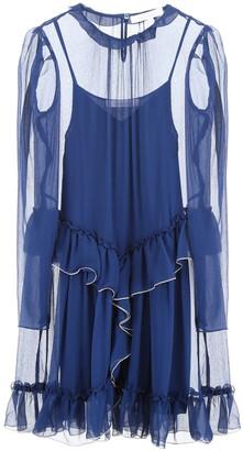 See by Chloe Georgette Ruffled Dress