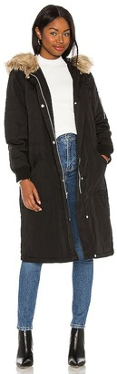 BB Dakota Winter Takes All Faux Fur Coat