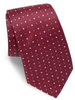 Eton Two-Tone Dotted Silk Tie