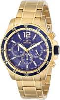Invicta Men's 13978 Specialty Analog Display Japanese Quartz Gold Watch