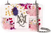 Alexander McQueen Insignia clutch satchel