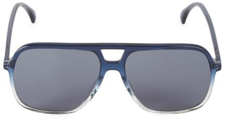 Gucci 58MM Aviator Sunglassses