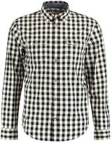 Pier 1 Imports LARGE GINGHAM CHECK OXFORD SHIRT Shirt black/white