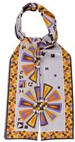 Emilio Pucci Long Abstract Scarf