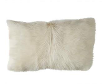OKA Chyangra Goat Hair Cushion Cover - Albino
