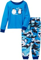 Komar Penguin HaHa Pajama Set (Toddler Boys)