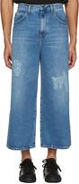 J.W.Anderson Blue Loose Fit Jeans